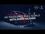 MY FAVOURITE #UCL GOALS WITH EDEN HAZARD