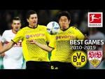 Borussia Dortmund vs. VfB Stuttgart  4-4 | The Best Games Of The Decade 2010-2019