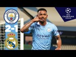 HIGHLIGHTS | Man City 2-1 Real Madrid (4-2 on aggregate) | Sterling, Jesus