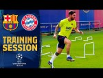 TRAINING ahead of the Champions League game BARÇA - BAYERN MÜNCHEN 🔥