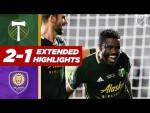 Portland Timbers 2-1 Orlando City | TOURNAMENT FINAL Win for Portland! | MLS HIGHLIGHTS