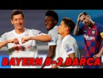 Barcelona  2-8 Bayern Munich | Quique Setien SACKED After Worst UCL Defeat Ever