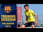 The PRE-SEASON PREPARATIONS continue in Barcelona