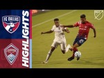 FC Dallas vs. Colorado Rapids | September 16, 2020 | MLS Highlights