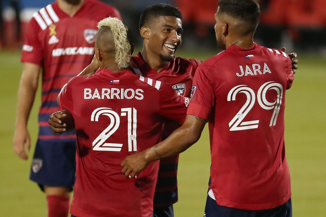 Mosquera hits hat trick as FC Dallas rout Rapids