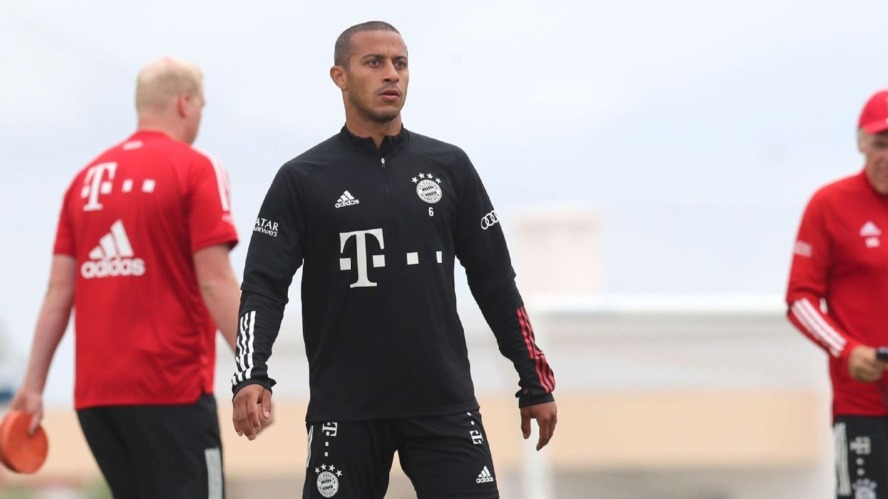 Sources: Liverpool in £27m Thiago transfer talks