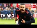 Thiago • Top 5 Best Goals • FC Bayern München