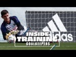 🧤 Courtois, Altube & Lunin | Train like a Real Madrid goalkeeper!