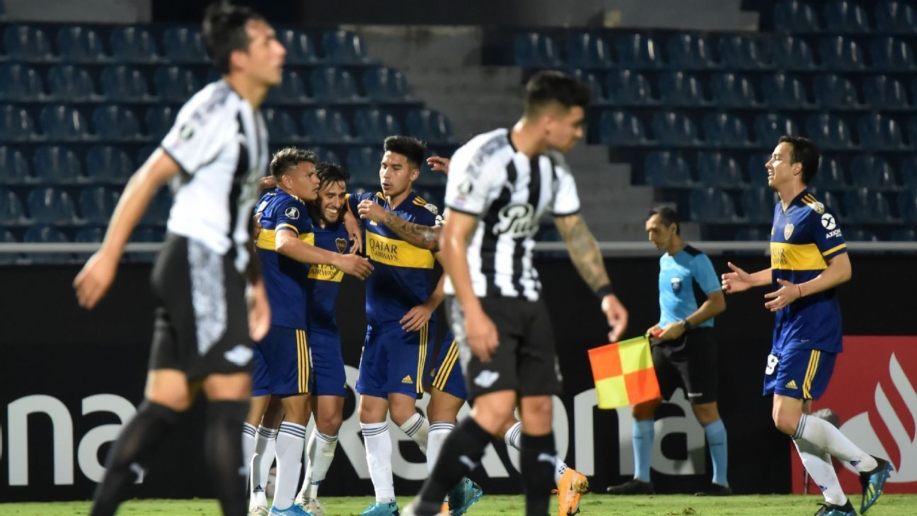 Boca beat Libertad amid COVID-19 concerns as Copa Libertadores resumes