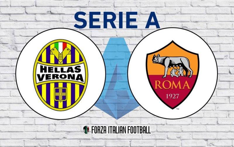 Hellas Verona v Roma: Probable Line-Ups and Key Statistics