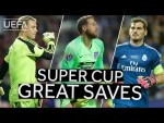 NEUER, OBLAK, CASILLAS: UEFA Super Cup Great Saves!