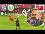 5 Goals in 9 Minutes – The Legendary Lewandowski Show | Bayern München vs. VfL Wolfsburg