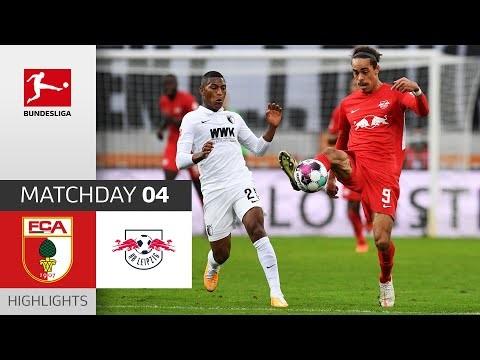 FC Augsburg - RB Leipzig | 0-2 | Highlights | Matchday 4 – Bundesliga 2020/21