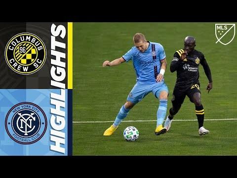 Columbus Crew SC vs. New York City FC | October 18, 2020 | MLS Highlights