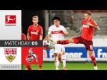 VfB Stuttgart - 1. FC Köln | 1-1 | Highlights | Matchday 5 – Bundesliga 2020/21