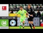 VfL Wolfsburg - Arminia Bielefeld | 2-1 | Highlights | Matchday 5 – Bundesliga 2020/21