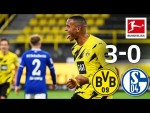 Safe Derby win for BVB! | Borussia Dortmund - FC Schalke 04 | 3-0 | All Goals | Matchday 5