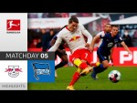 RB Leipzig - Hertha Berlin | 2-1 | Highlights | Matchday 5 – Bundesliga 2020/21