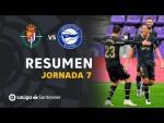 Resumen de Real Valladolid vs Deportivo Alavés (0-2)