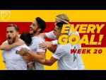 ALL GOALS From MLS Week 20! Hat tricks, free kicks, long range, and a sweet treat from Carlos Vela.