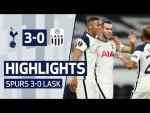 HIGHLIGHTS | SPURS 3-0 LASK | Vinicius & Bale full debuts in Europa League win