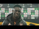 Folarin Balogun on how it felt to make his Arsenal debut