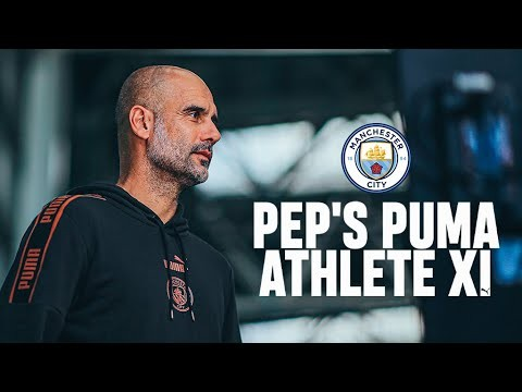 PEP GUARDIOLA'S PUMA ATHLETE XI
