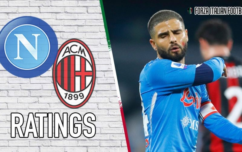 Napoli Player Ratings vs AC Milan: A night to forget for Bakayoko