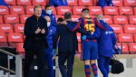 Barcelona's Clement Lenglet Limps Off With Ankle Injury Against Osasuna