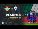Resumen de Real Betis vs SD Eibar (0-2)