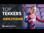 LaLiga Santander Tekkers: Golazo y asistencia de Griezmann en la victoria del FC Barcelona