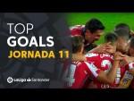 Todos los goles de la Jornada 11 de LaLiga Santander 2020/2021