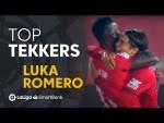 LaLiga SmartBank Tekkers: Luka Romero anota su primer gol como profesional