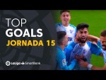 Todos los goles de la Jornada 15 de LaLiga SmartBank 2020/2021