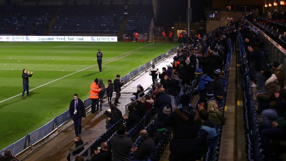 All the Best Bits as Fans Return to Grounds Across the Football League
