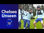 Tammy Abraham Suffers A Double Nutmeg & Ben Chilwell Braves The Cold | Chelsea Unseen