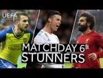 RAMSEY, RONALDO, SALAH: Classic #UCL Matchday 6 GOALS!