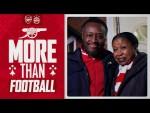 ❤️ More than football | Fans return to Emirates Stadium