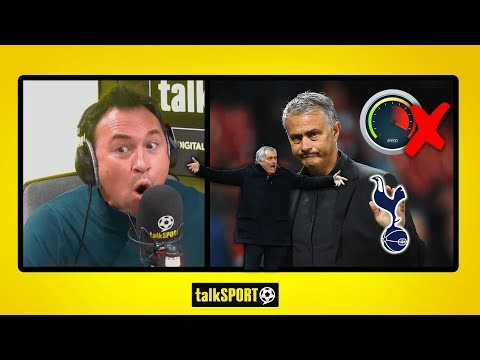 """JOSE IS PLAYING WITH THE HANDBRAKE ON⚠️"" Jason Cundy SLAMS Tottenham manager José Mourinho!"