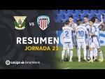 Resumen de CD Leganés vs CD Lugo (3-2)