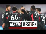 Inside West Ham: Up close and personal from Liverpool's win at the Hammers | West Ham 1-3 LFC