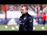 LIVE 🔴 Pressetalk mit Hansi Flick   Mainz 05 - FC Bayern