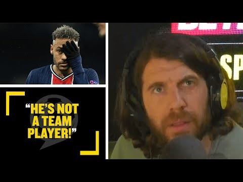 """""""HE'S NOT A TEAM PLAYER!"""" Cundy & Goldstein say PSG's loss to Man City proves Neymar is OVERRATED!"""