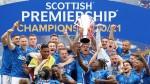 Rangers finish season unbeaten with 102 points