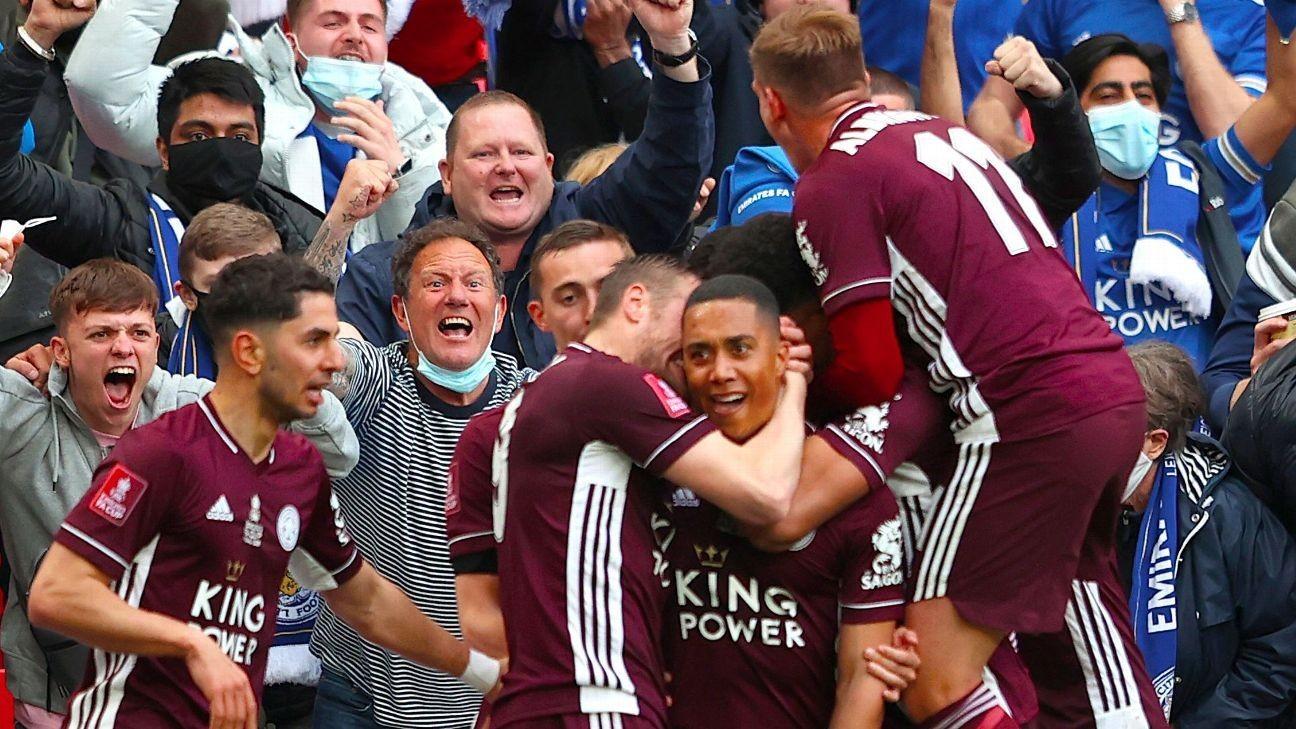 Leicester's FA Cup final dreams come true