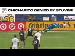 Chicharito DENIED by stellar Brad Stuver save