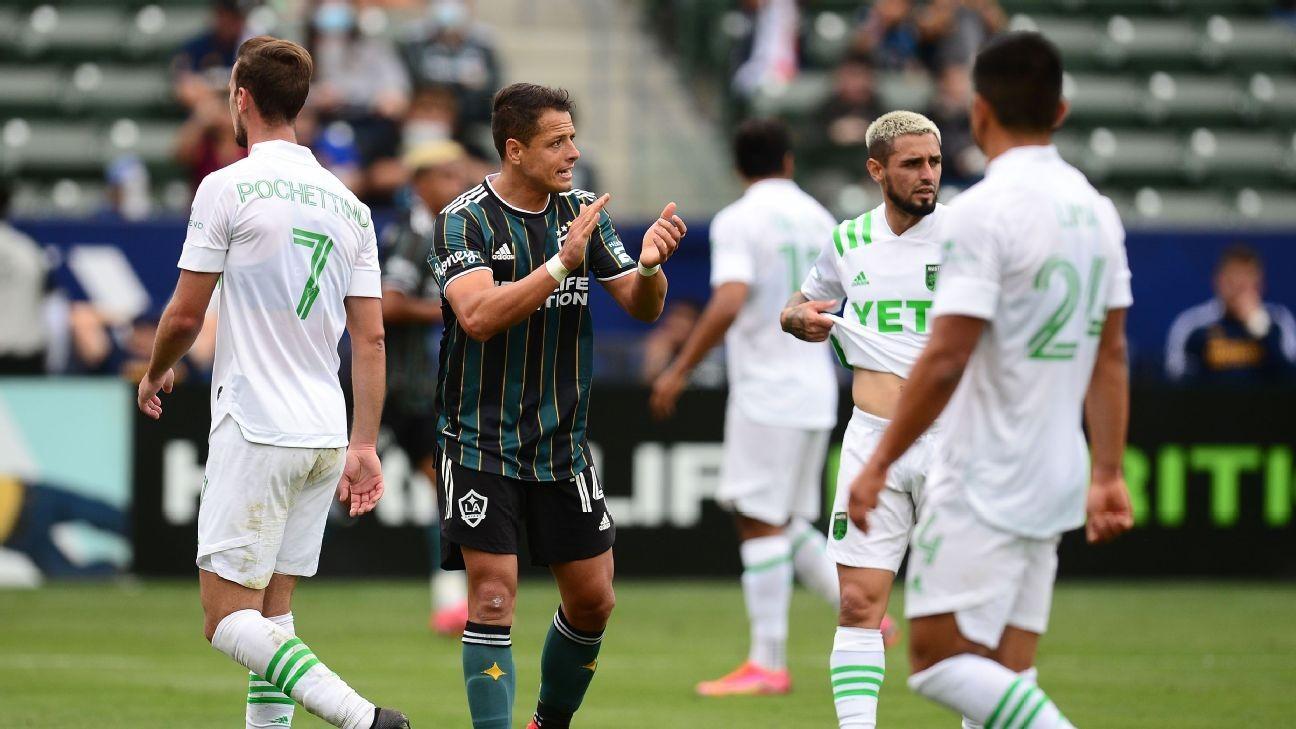 'Chicharito' stays hot as Galaxy sink Austin FC