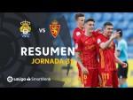 Resumen de UD Las Palmas vs Real Zaragoza (0-2)