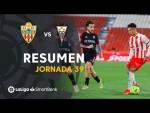 Resumen de UD Almería vs Albacete BP (1-1)