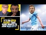 """KANE WANTS TO JOIN MAN CITY!"" Simon Jordan reacts to MCFC £100m transfer bid for THFC's Harry Kane"